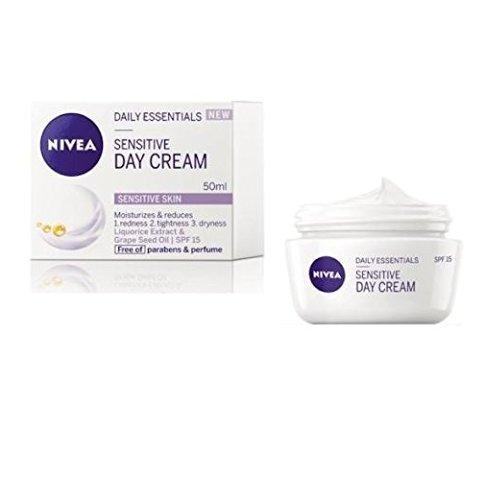 Nivea Sensitive Day Cream SPF 15 Redness, Tightness, Dryness