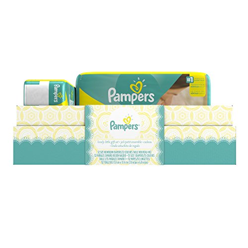 Pampers Swaddlers Diapers and Sensitive Wipes Gift Box Pamper Box