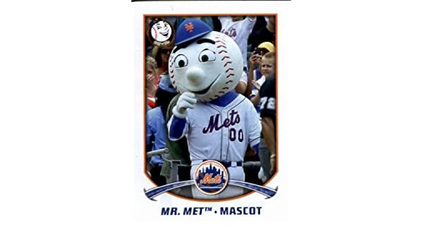 new product 62f0d f5fe9 Amazon.com: 2015 Topps MLB Baseball Sticker #193 Mr. Met ...