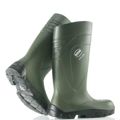BEKINA-PU-Stiefel Steplite X grün S5, Größe 48