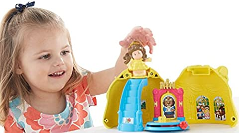 Fisher-Price Little People Disney Princess, Belle's Magical Dress (Belle And The Beast Little People)