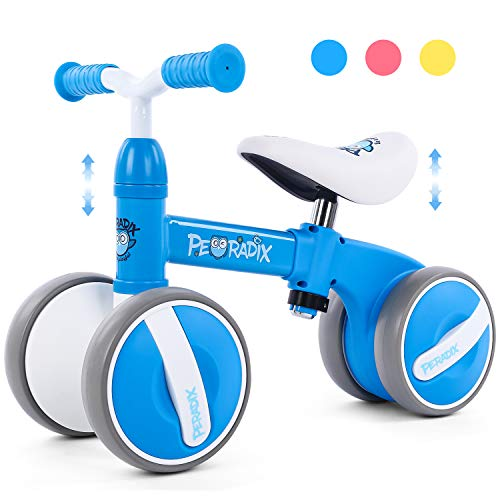 Peradix Baby Balance Bikes Adjustable Bicycle 10-36 Months Toddlers Walker | Riding Toys for 1 Year Old Children Boys…