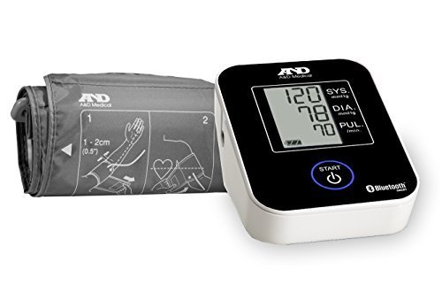 A&D Medical Wireless Connected Blood Pressure Monitor UA-651