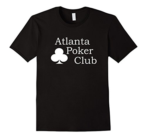 (Atlanta Poker Club Classic Big White Logo T-Shirt)