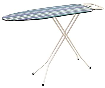 Iron Worx 110 X 33 Cm Ironing Board With Cotton Cover, White(Design May  Vary): Amazon.co.uk: Kitchen U0026 Home