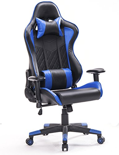410syW4YAlL - Top Gamer PC Gaming Chair Video Game Chairs for Computer Game(Blue/Black)