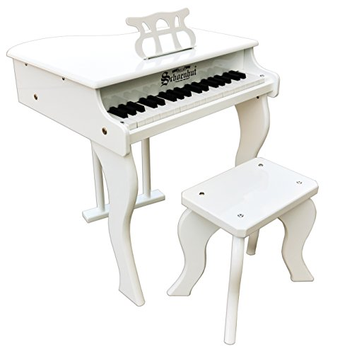 Schoenhut 37 Key Elite Baby Grand with (Best Digital Piano With Notes Holders)