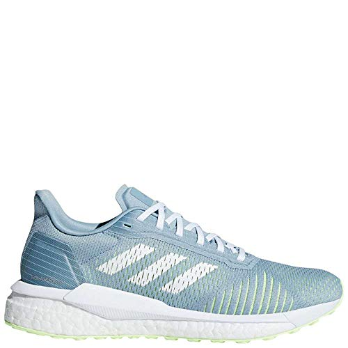 adidas Women's Solar Drive ST Running Shoes Ash Grey/White/Hi Res Yellow 8 B(M) US