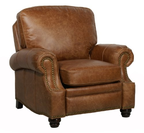 Barcalounger Longhorn ll Chaps Saddle Leather (Saddle Leather Recliner)