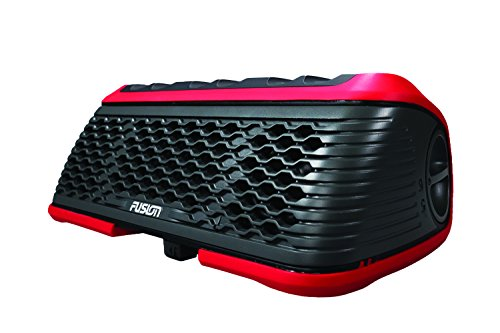 Fusion Entertainment WS-SA150R StereoActive Watersports AM/FM/WX/Bluetooth/USB Portable Stereo, Red