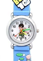 Timernall Original Ben10 Analogue Quartz Blue Kids Watches