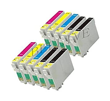 10 Cartuchos Compatibles para Epson T0321 T0422 T0423 T0424 Stylus ...