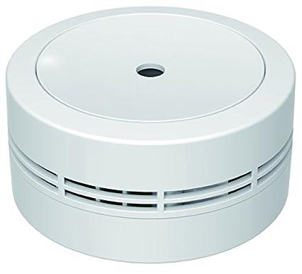 jeising Mini Detector de humo gs535 Color Blanco 10 años batería de litio – testado VDS