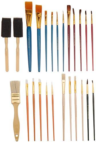 Plaid Value Pack Super Brushes, 44211 (25-Piece)