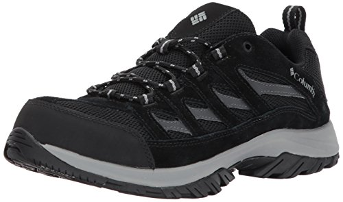 Columbia Men's Crestwood Hiking Shoe, Black, Grey, 11.5 D US by Columbia