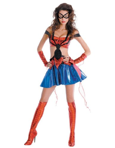 [Spider-Girl Adult Costume - Large] (Spider Girl Costume Ideas)