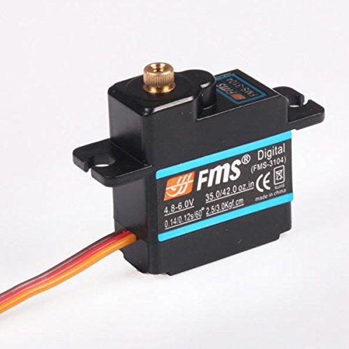 Digital Surface Servo (FMS RC Airplane Part - 17g Digital Metal Gear Servo Positive with Arm (700mm Cable Length))