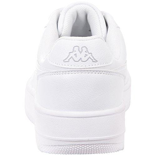 White 1014 Unisex Kappa 1014 White Adults' L´grey Black Trainers Bash TYTg0wqZ