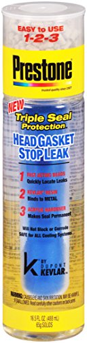 Prestone AS663 Head Gasket Stop Leak with Kevlar, 16.5 fl. oz.