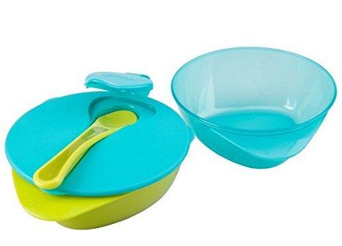 Easy Scoop Feding Bowl,blue-green Color