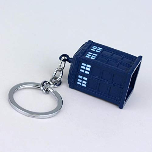 CLEARNICE Llavero Doctor Who Dalek Tardis Caja De Policía ...