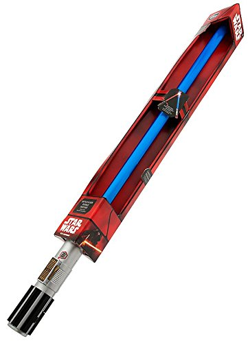 Star Wars: The Force Awakens Rey's Electronic Lightsaber with Dueling Lightsaber Effect and Motion Sensor Battle-Clash Rumble Lights And Sounds by Disney (Luke Lightsaber)