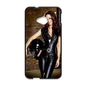 HTC One M7 Cell Phone Case Black Jennifer Metcalfe U7J7EL