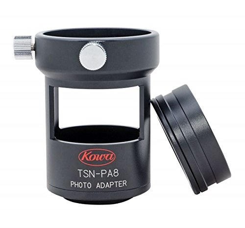 Kowa Photo Adapter for TSN-82SV/660M/600 Scopes and Zoom Eyepieces, Black, Small, by Kowa