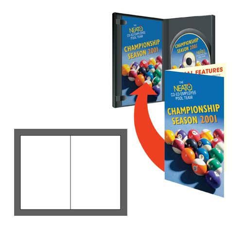 NEATO PhotoMatte DVD Case Booklets-100 Pack- DIP-192645