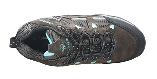 Pictures of QOMOLANGMA Women's Waterproof Wide Hiking Shoes W91501 4
