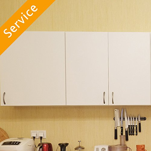 Wall Cabinet Installation - Up to 2 Cabinet Units - Triple Door (Furniture Manufacturers Carolina)