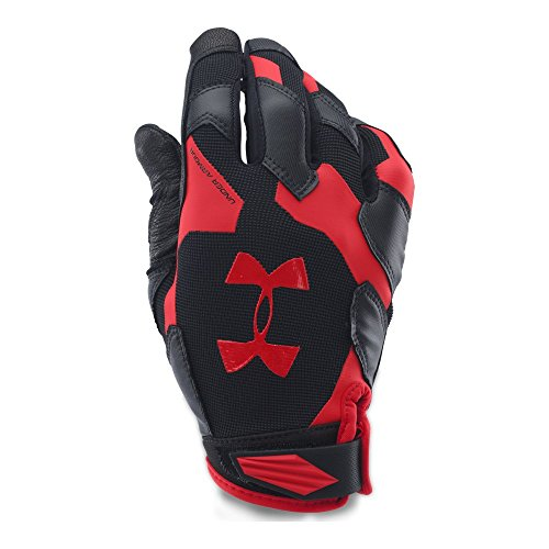 Under Armour Men's Renegade Training Gloves, Black/Red, Small