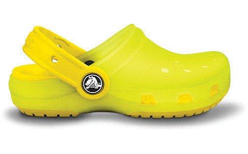 Crocs Chameleons Translucent Clog Color: Lime Green/Yellow Size: Toddler 8/9