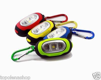 Mini Linterna LED COB 3 LED SMD llavero con linterna y ...