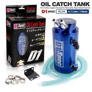 Deltarace - Tanque para la recuperación de vapores de aceite con filtro decantador turquesa: Amazon.es: Coche y moto