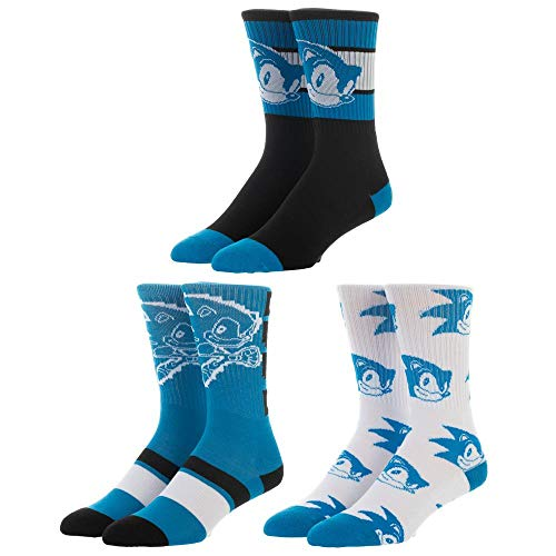 Sonic the Hedgehog Socks Sonic Accessories Sonic Gift - Sonic Socks Sonic the Hedgehog Accessories from Bioworld