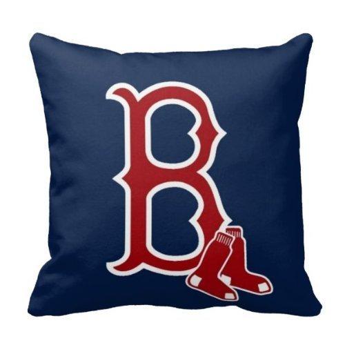 (AliHogbenStore Boton Red Sox #:462 Pillow Case Cushion Cover Home Sofa Decorative 18 X 18 Squares)