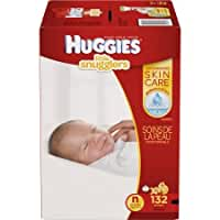 HUGGIES Little Snugglers Diapers Giant Pack, (Choose Your Size)