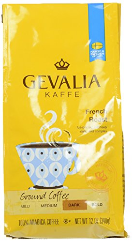 Gevalia French Roast and Ground, 12 Ounce