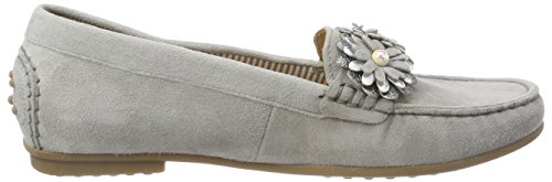 Gabor Women's Conker Loafers Grey (Stone/Silber) with paypal cheap online prices cheap price discount visit new outlet countdown package factory outlet for sale zXny9FHS0