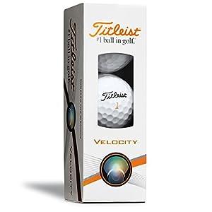 Titleist Velocity Prior Generation Golf Balls, White (One Dozen)