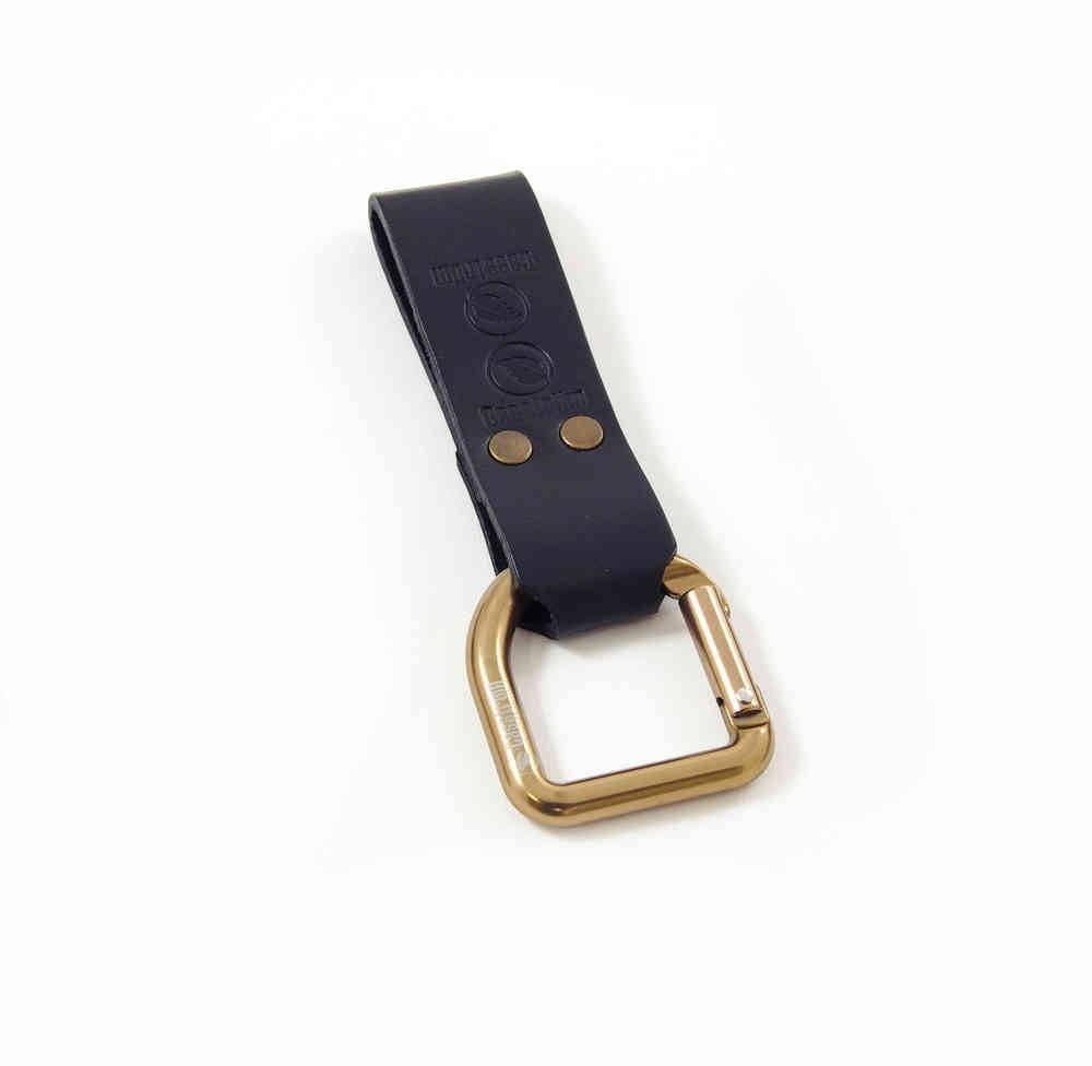 Casstrom 10102 Mens Belt No 3 Dangler D-Ring Black Loop
