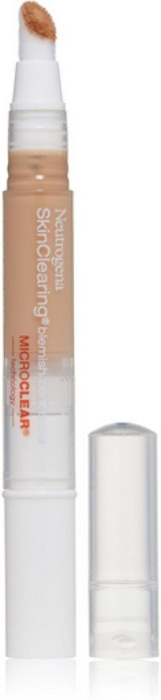 Neutrogena SkinClearing Blemish Concealer, Medium [15], 0.05 oz (Pack of 3)