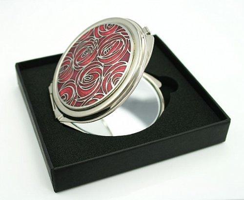 LJ Designs Rennie Mackintosh Style Compact Mirror (Rennie Mackintosh Jewellery)
