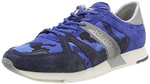Napapijri Chaussures Herren Sneaker Rabari, Blau (imprim