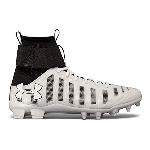 Under Armour C1N MC 11 White (Under Armour C1n Mc Mens Football Cleat)