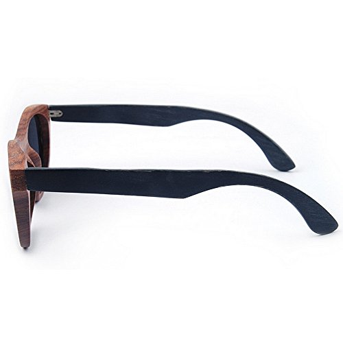 hombres a de Protección Retro sol mano alta hechas gafas vendimia de ULTRAVIOLETA clase gato conduce de la sol Gafas de Gafas polarizadas los madera de de Ojos Gafas Sunglasses de de que Beach sol las Pq0AwP