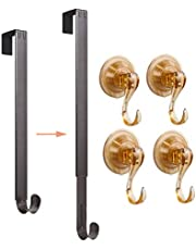 VIS'V Wreath Hanger with Suction Cup Hooks