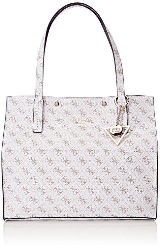 cm 5x31x35 Shoppers L W bolsos y GUESS H Hobo Blanco Bags White Mujer de x 17 hombro W77cH1xPn