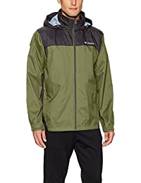 Men's Glennaker Lake Front-Zip Rain Jacket with Hideaway...